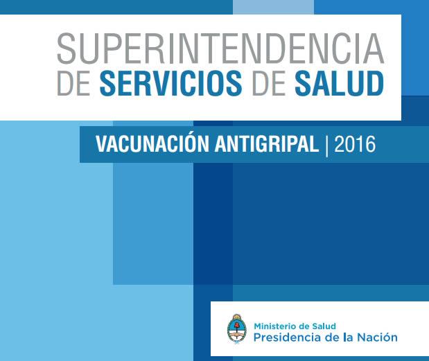 vacunacion antigripal 2016